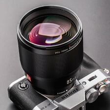 VILTROX 85mm F1.8 Auto Focus Standard Prime Lens for Fuji X-Mount Camera X-T3/T2