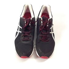Asics Rush33 T1H2N Athletic Running Shoes Size 15 Red Black Fitness Outdoor