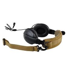 Molle Advanced Modular Headset Cover Headband for General Tactical Earmuffs /TAN