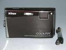 Nikon COOLPIX S60 10.0MP Digital Camera - Burgundy  # 9246