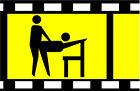 15956 Noch Scenes Stuhl Spur H0