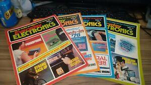 everyday electronics magazine 1977 x 4