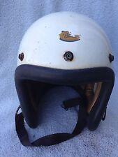 Vintage Early Old Buco Motorcycle Helmet