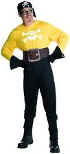 Minion Pirate Adult Mens Costume, Despicable Me, Rubies