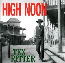 "TEX RITTER  "" High noon ""  Bear Family CD"