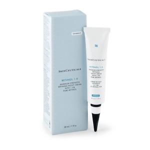SkinCeuticals Retinol 1.0 Maximum Strength Refining Night Cream 1 oz New in Box