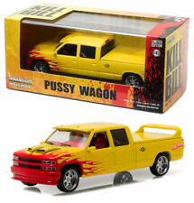 1997 CHEVROLET c-2500 Crew Cab pussy wagon Kill Bill 1:43 Greenlight 86481