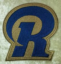 """LA Los Angeles Rams """"R"""" NFL 3.5"""" Iron On Embroidered Patch ~USA Seller~FREE Ship"""