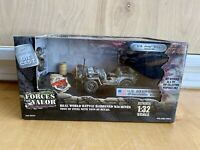 Forces Of Valor U.S Jeep Willys Bastogne 1944 Die Cast 1:32 Scale New In Box