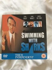 SWIMMING WITH SHARKS - KEVIN SPACEY - DVD. BENICIO DEL TORO