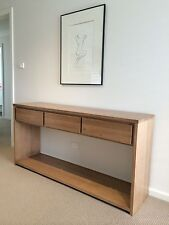 Paddington 2.0 Local make tassie oak hardwood hall table console table