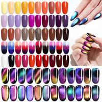 LILYCUTE 5ml UV Gel Nagellack Holographicss Thermal Soak Off Nail Art Lack Salon