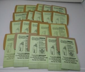 Lot of 20 ORECK Housekeeper Compact Canister Model Vacuum Cleaner Bags
