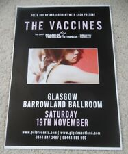 The Vaccines - nov 2011 UK live music show memorabilia concert gig tour poster
