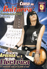 CURSO DE: GUITARRA SENSACIONAL VOLUME 5 APRENDA ELECTRICA DVD