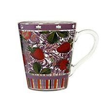 * Jameson & Tailor Strawberry Design Glass Mug/Cup - 0.3L - Gift Mug -  Boxed *