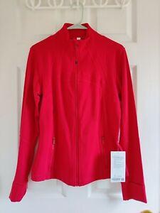 Brand New Lululemon Define Zip Up Jacket Dark Red, Sz 10