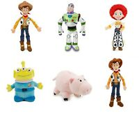 Disney Toy Story Soft Plush Bean Bag Toy Dolls Woody Buzz Jessie Alien Hamm