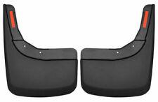HUSKY LINERS BLACK Mud Flap Guards FOR 2019-2020 Chevy Silverado 1500 (REAR)