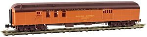 Micro-Trains MTL N-Scale 70ft. Mail Baggage Car Milwaukee Road/MILW #817