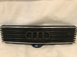 Audi 100 C3 Centre Bonnet Grill with Audi Logo 443853655