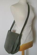 Grande besace vintage KENZO sac cuir grainé kaki bandoulière format A4  TBE