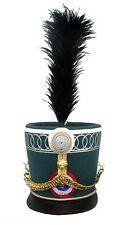 Tschako Frankreich Shako Infantrie Napoleon  Husaren Waterloo 1815  Empire L144
