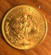 Mexican 1920 20 Pesos Gold Coin .4823 oz. Nice coin
