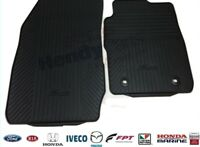 New! GENUINE FORD FIESTA MK7 2013 ON FRONT RUBBER MATS 1728711
