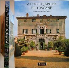 Villas et Jardins de Toscane 1992 Bajard Bencini architecture botanique garden