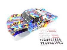 NEW TRAXXAS SLASH 1/10 2wd 4wd ROCK N ROLL EDITION PAINTED BODY SHELL VXL DECALS