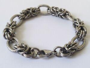Mens Heavy Stainless Steel Bracelet
