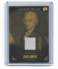 2017 Pieces of the Past 5th President James Monroe Authentic Document Card