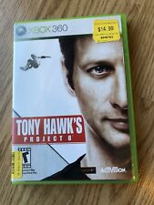 Tony Hawk's Project 8 (Microsoft Xbox 360, 2006) Cib Game H3