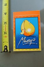 Mango Surfboards Clothing Kirra Australia Neon V11 Vintage Surfing Sticker