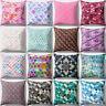 LN_ EG_ Mermaid Fish Scales Sofa Home Decorative Throw Pillow Case Cushion Cov
