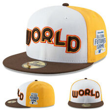 New Era MLB World 5950 Fitted Hat All Star Futures Side Patch Cap Made in U.S.A.