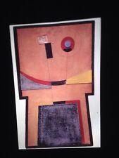 "Ardin Quin ""Dada Collage"" Uruguay Modern Madi Art Glass 35mm Slide"