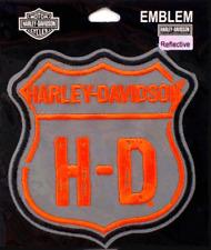 HARLEY DAVIDSON REFLECTIVE NIGHT VISION ROAD TRIP PATCH (XXL)