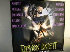 DEMON KNIGHT Large Promo Poster MINISTRY Melvins MEGADETH Pantera SEPULTURA more