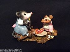 Wee Forest Folk Special Color Creative Hands Little Girl Possum's Pizza Party