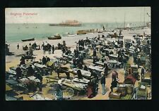 Sussex BRIGHTON Beach Fish Market 1907 PPC