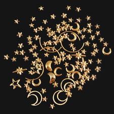 3D Decoration Nail Art Tips Decor Moon Star Diamond Rhinestones Gem Rhinestone