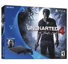 Sony PlayStation 4 Slim 500GB Console - Uncharted 4 Bundle NEW