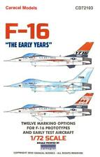 "Caracal Decals 1/72 F-16 FALCON ""THE EARLY YEARS"" Prototype & Test Aircraft"