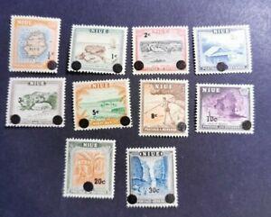 Niue 1967 Decimal Currency set MUH b2