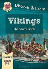 KS2 Discover & Learn: History - Vikings Study Book, Year 5 & 6 by CGP Books | Pa