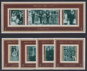 T452. Manama - MNH - Famous People - John F. Kennedy