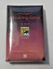 SDCC Comic Con Twilight Breaking Dawn Part 1 Promo Pin - 11.18.11 - Made In USA