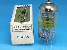 REALISTIC 6GH8 A VACUUM TUBE NOS NIB ELECTROPOLISH PINS 7199 SUBSTITUTE SINGLE